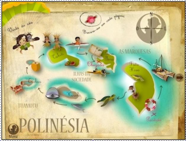 Lulu e Zazou na Polinésia