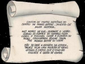Introdução da Lenda do Pequi, escrito por Paulo Volker, 1991.